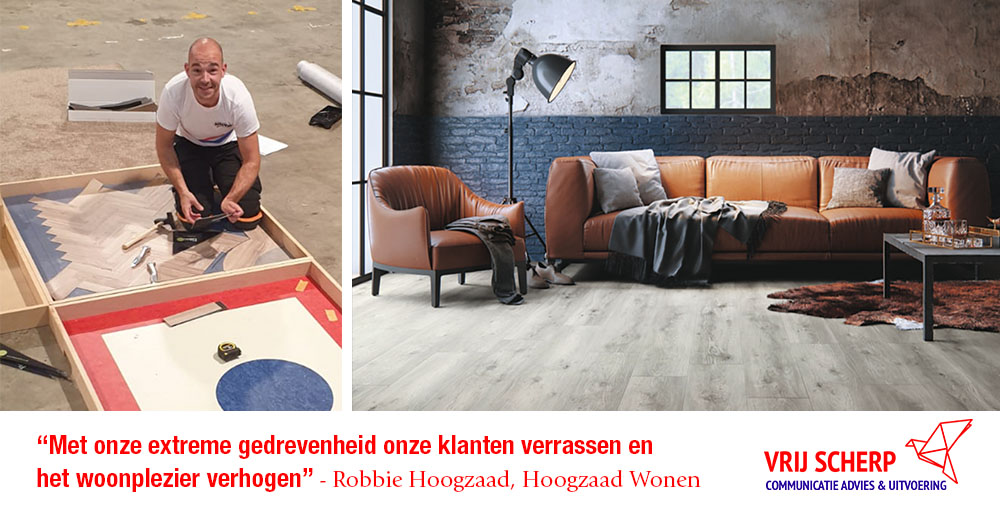Robbie Hoogzaad - Wonen - Vrij Scherp