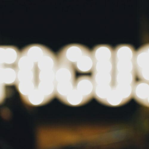 Focus en Flow - Vrij Scherp