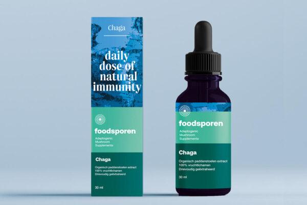Chaga - Foodsporen - Vrij Scherp