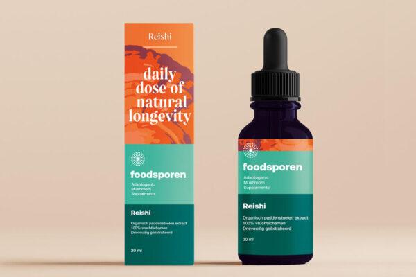 Reishi - Foodsporen - Vrij Scherp